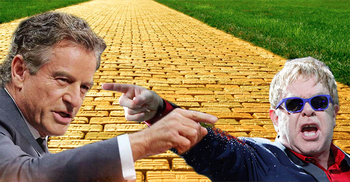 "Elton John To Sue Mark Bouris Over ""Yellow Brick Road"" Naming Rights"