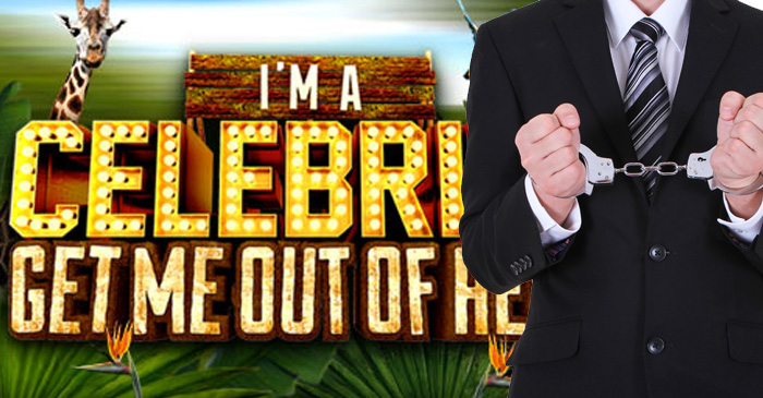 Convicted white collar criminals are being forced to watch I'm A Celebrity! behind bars