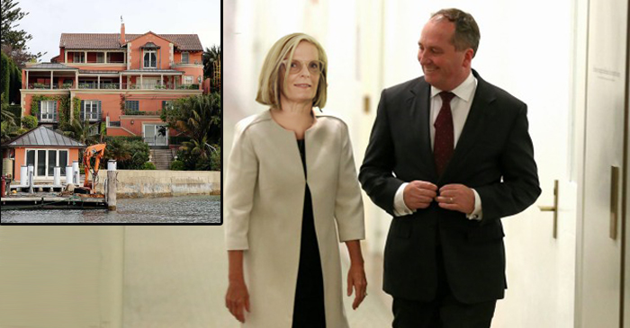Lucy Turnbull Shows Barnaby Around His New Living Quarters In Point Piper Boathouse