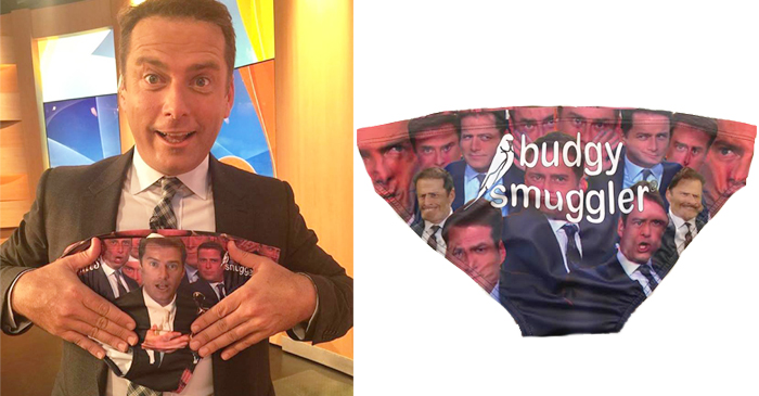 Karl Stefanovic Releases New Line Of Swimwear: The Logie Smugglers