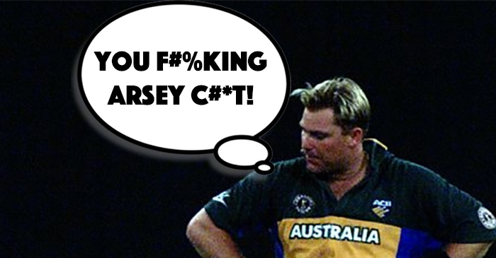 Warney, before he convinced himself he was hot.