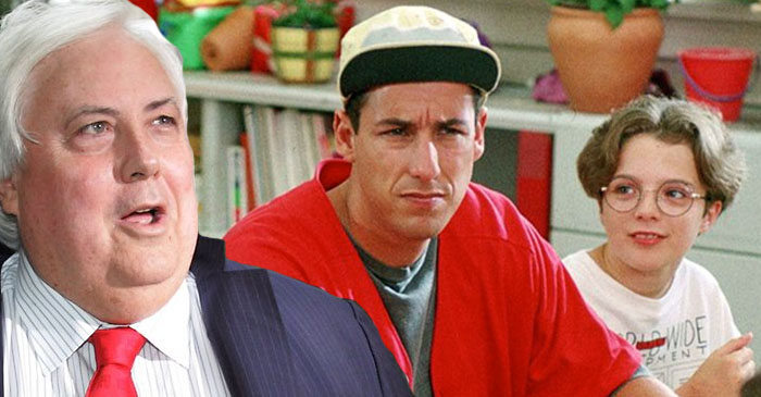 Clive Palmer set to bankroll Broadway adaptation of Billy Madison
