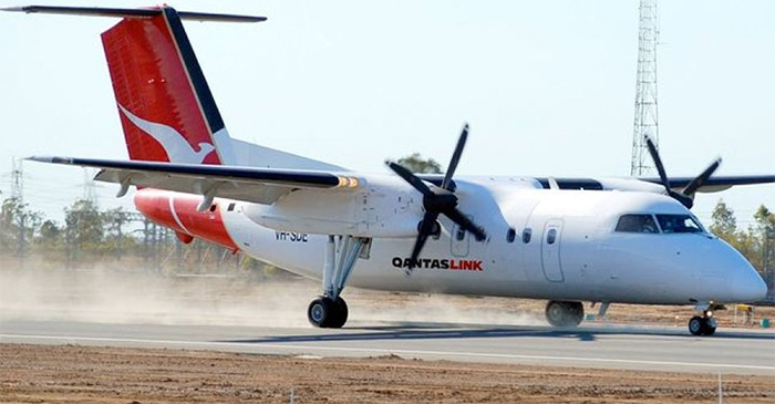 Delaney says the trip wouldn't have been possible without the compassionate support he received from the QantasLink staff. PHOTO: Supplied.
