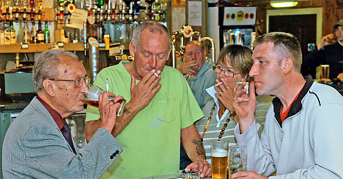 After the Betoota police station close in 2005, people were free to smoke inside local bars again. PHOTO: Supplied.