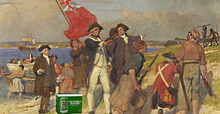 Historians Agree Captain Cook Arrived With Carton Of Piss, Keen To Make Friends