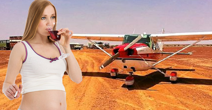 Betoota Expectant Mother Worried Airport Expansion Will Harm Her Unborn Child