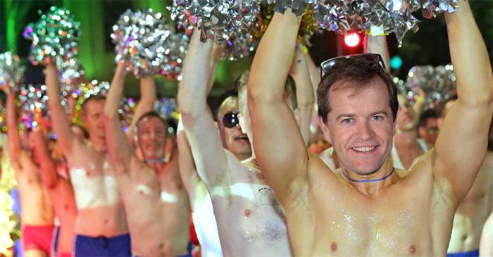 Bill Shorten To Shirtfront Gay Rights By Taking Shirt Off At Mardi Gras
