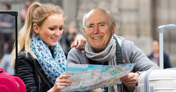 John Howard returns home from Contiki trip in one piece
