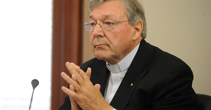 Vatican Quietly Reminds Cardinal Pell That Snitches Get Stitches