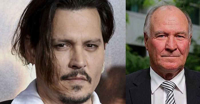 Johnny Depp endorses Tony Windsor for New England