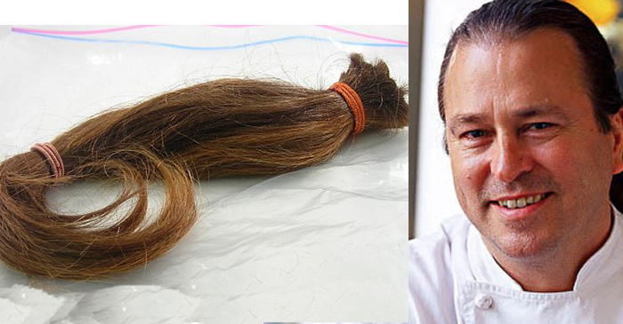 Somebody cut off Neil Perry's iconic ponytail and now he wants it back