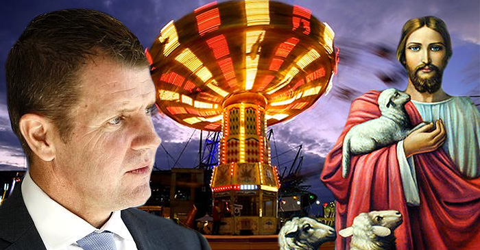 Are Non-Christians being locked out of the Royal Easter Show this year?
