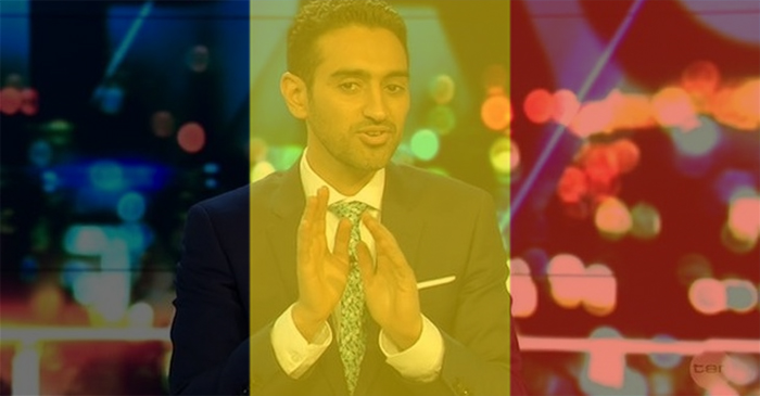 Waleed Aly To Deliver Introspective Monologue Through Belgian Flag Filter Tonight