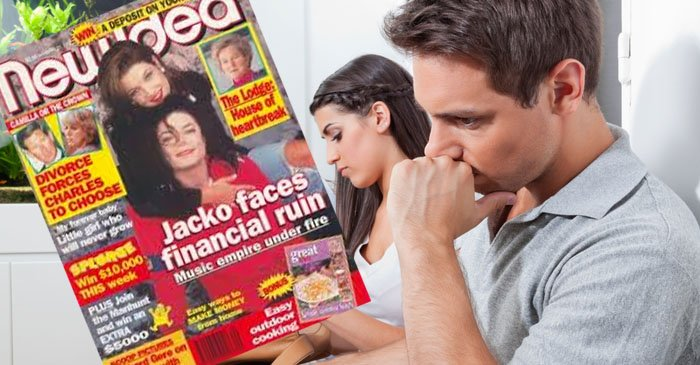 Phoneless moron forced to read 17-year-old New Idea in dentist waiting room