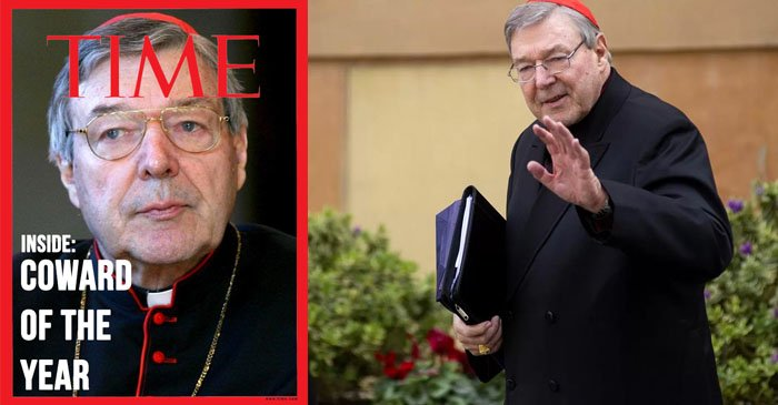 Cardinal George Pell named Time Magazine Coward of the Year