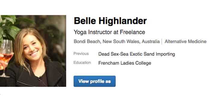 Local Woman's Career Probably Doesn't Warrant A LinkedIn Profile