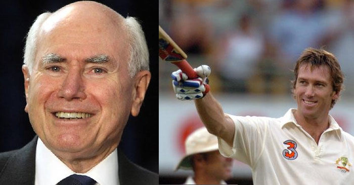"John Howard: ""Greatest moment of my career was watching Glenn McGrath score 61 at the Gabba"""
