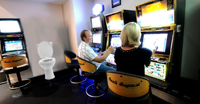 Local RSL Refuses To Relocate Open-Air Toilet From Pokies Room