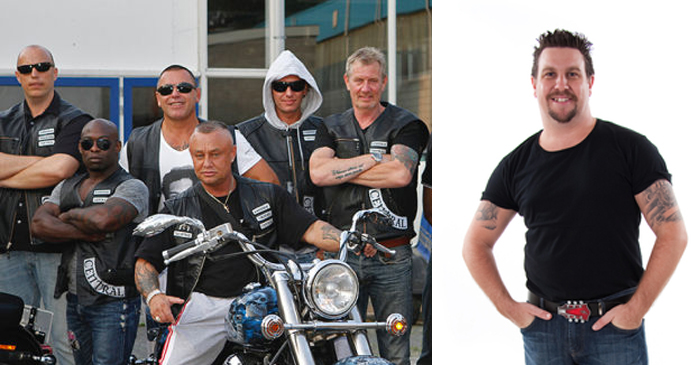Local Bikies Don't Have The Heart To Expose Friendly Undercover Cop
