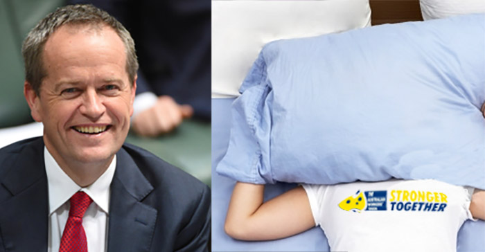Bill Shorten reveals he maintains his cool composure by screaming into pillows