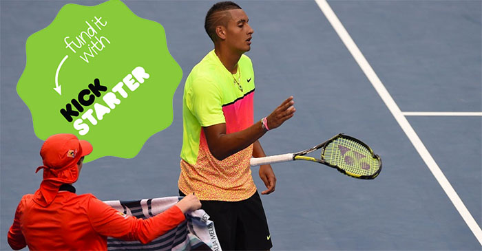 Kickstarter campaign launches to help Nick Kyrgios get some ticker