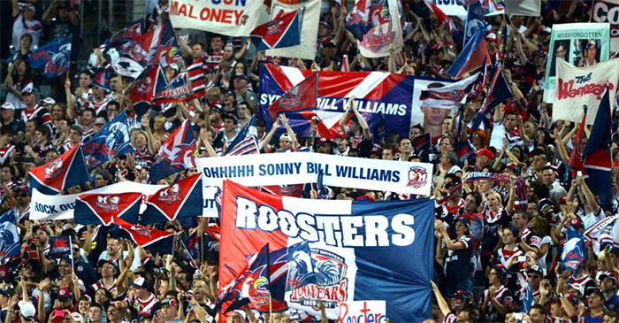 Sydney Roosters fans chuffed to learn they're no longer the shittest team in the NRL