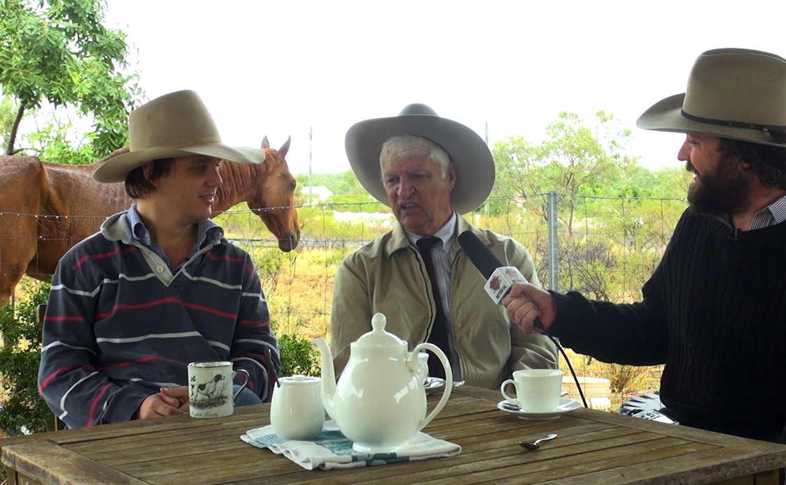 The Betoota Advocate interview Bob Katter shortly before State Of Origin Game 1.