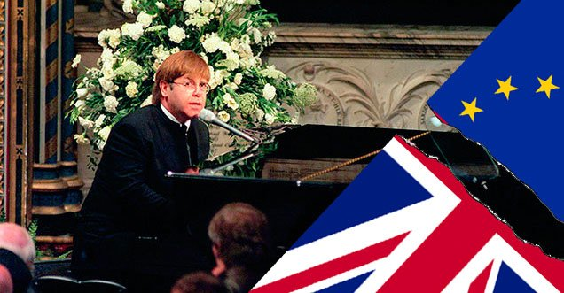 Elton John rewrites 'Candle in the Wind' in tribute to plummeting British pound