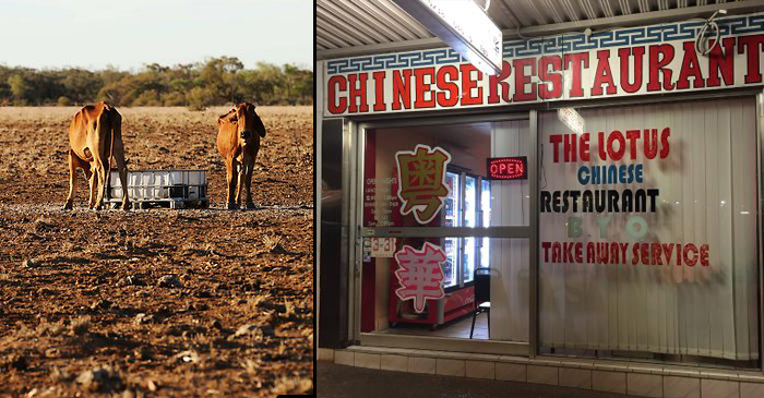 Chinese Take-Away Rated Most Viable Industry In Western Queensland