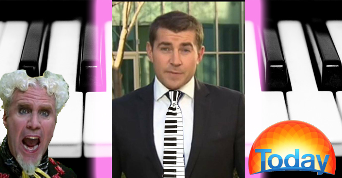 Petition Demands TODAY's Charles Croucher Wear A Piano Key Necktie During Live Cross