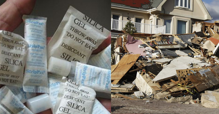 Federal government rolls out emergency silica packets to storm-ravaged areas