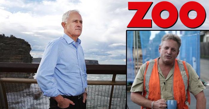 Turnbull Hires Former ZOO Magazine Writers To Help Secure Tradie Voters