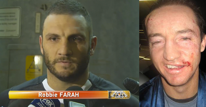 Robbie Farah Reveals He Nearly 'Pulled A Fa'alogo' During Recent Spat With Taylor