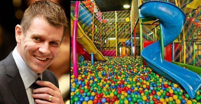 NSW Premier Mike Baird Calls For State-Wide Ban On Ball Pits