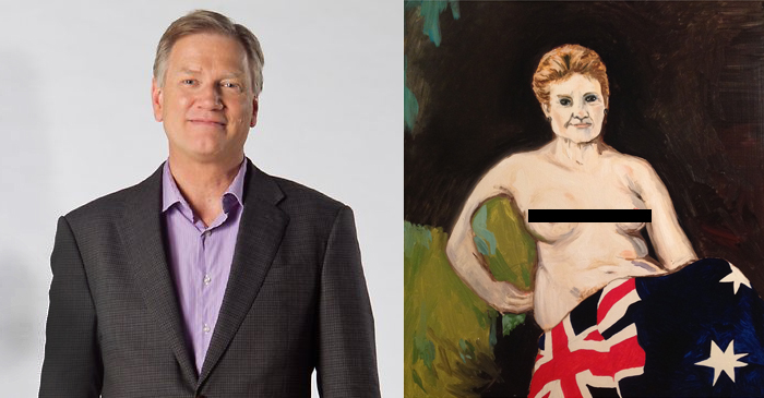 Andrew Bolt's Breathtaking Portrait Of Pauline Hanson Takes Out 2016 Archibald Prize