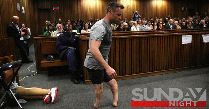 Seven Network under fire for broadcasting 'creepy' footage of Oscar Pistorius walking on nubs