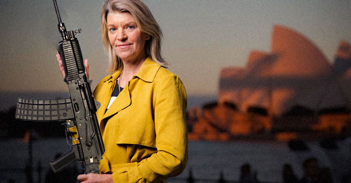 Kitty Chiller unveils new personal protection rifles ahead of Rio Olympics