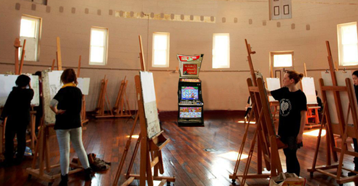 National Art School Students Vow To Keep Painting As Baird Replaces Teachers With Pokie Machines
