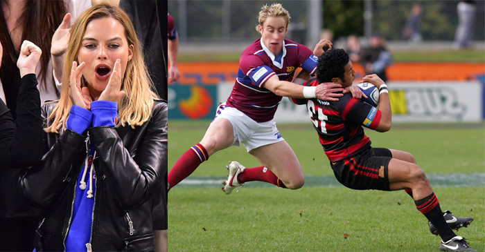 Margot Robbie Boos As Her Cousin Cops Red Card For Disgusting Head High Tackle In Dalby