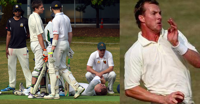 Brett Lee accused of taking charity match 'a bit too seriously'