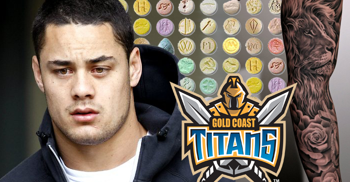 Jarryd Hayne's New Gold Coast Contract To Include Free Pill Press And Sleeve Tatt