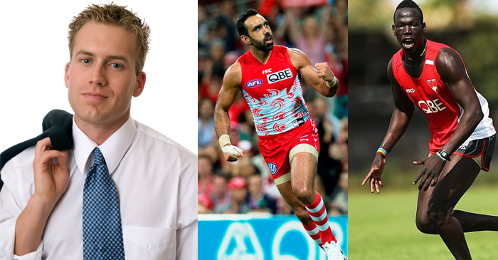 Racist Victorian AFL Fan Tips Aliir Aliir To Be The Next Adam Goodes