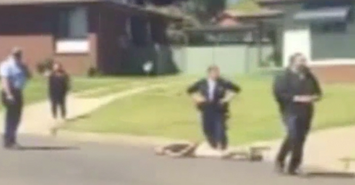 Aboriginal Man Criticised For Not Standing During National Anthem After Being Shot By Police