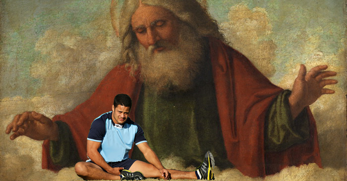 God Politely Asks Jarryd Hayne To Stop Dropping His Name To The Media