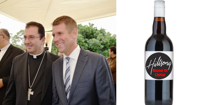 Mike Baird To Extend Trading Hours For Bottle Shops That Agree To Sell Blood Of Christ