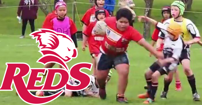 Queensland Reds Sign 9-Year-Old Kid From Viral Rugby Video For 2017 Season