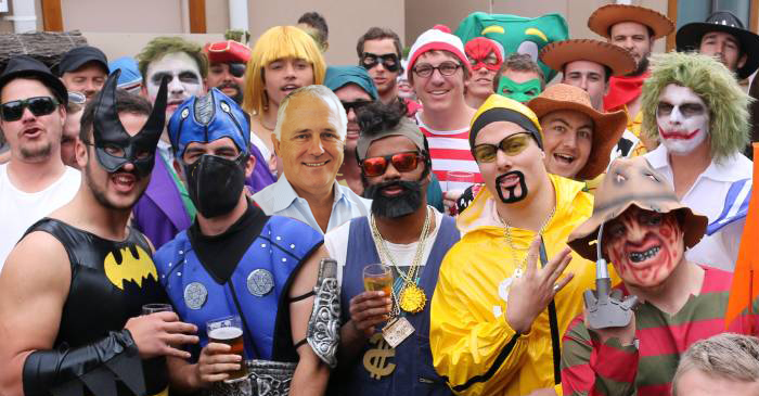 Malcolm Turnbull Makes Surprise Appearance At Gulgong Terriers' Mad Monday