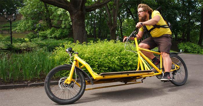 Local cargo bike wanker really wishes Brisbane was more like Copenhagen
