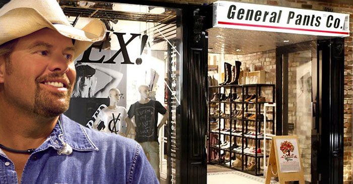 General Pants fires salesperson on-the-spot for playing Toby Keith in-store