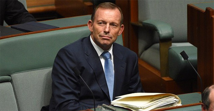 Not even Tony Abbott can't quite believe how much of a train wreck Malcolm Turnbull has become